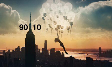 Η αρχή του «90/10»: Μπορεί να αλλάξει τη ζωή σας για πάντα και να βελτιώσει τη διάθεσή σας.