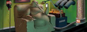 Η άσχημη αλήθεια: Αηδιαστικά βαθιές εικονογραφήσεις αυτού στο οποίο μετατρέπεται ο κόσμος