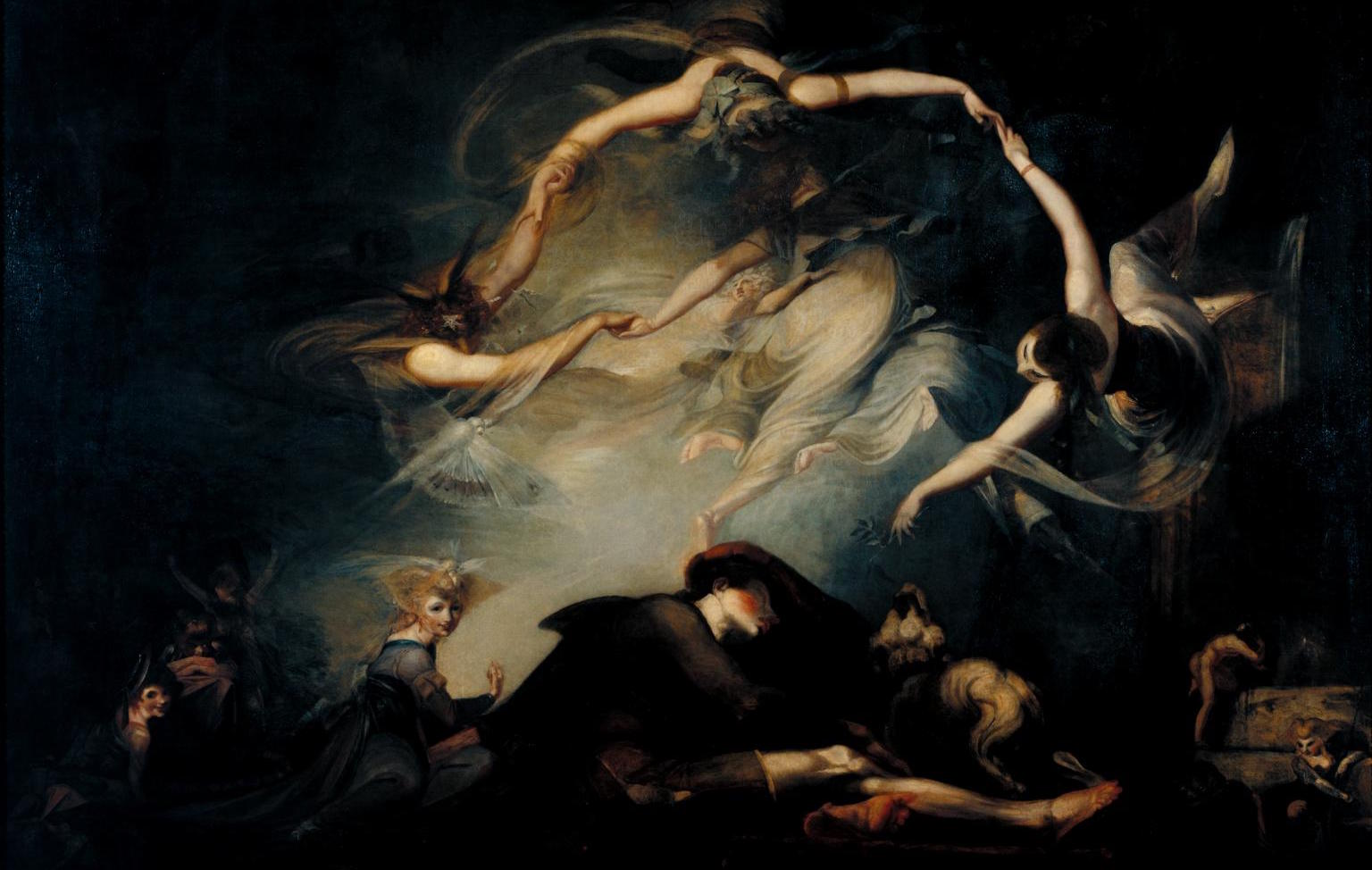 The Shepherd's Dream, from 'Paradise Lost' 1793 Henry Fuseli 1741-1825 Purchased 1966 http://www.tate.org.uk/art/work/T00876