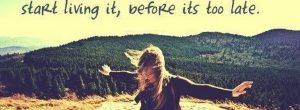 Ζήσε… Μη σπαταλάς τη ζωή σου με τα πρέπει.