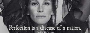 Η  Julia Roberts αιχμαλώτισε την προσοχή των εταιρειών καλλυντικών με ένα σοβαρό μήνυμα