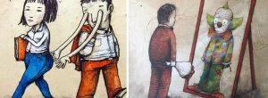 Καλλιτέχνης από τη Γαλλία σχεδιάζει όσα σκεφτόμαστε αλλά φοβόμαστε να συζητήσουμε