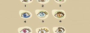 Διαλέξτε ένα μάτι και δείτε τι μπορεί να αποκαλύψει για εσάς
