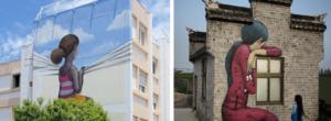 Γάλλος καλλιτέχνης του δρόμου μεταμορφώνει βαρετά κτίρια όλου του κόσμου σε έργα τέχνης!