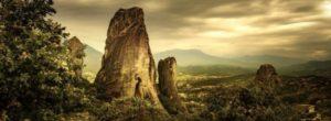 """Μετέωρα. Ο """"κρεμαστός παράδεισος"""" της Ελλάδας από ψηλά"""